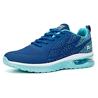 Running Shoes for Women Active Sneakers Workout at Home Shoes Navy Teal Size 8