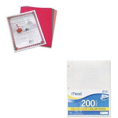 KITMEA17208PAC103637 - Value Kit - Mead Economical 16-lb. Filler Paper (MEA17208) and Pacon Riverside Construction Paper (Economical Filler Paper)