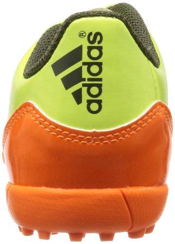 adidas - Botas de fútbol para niño verde brillante
