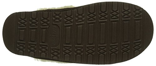 Minnetonka Chesney Scuff - Pantofole Donna, Marrone (ChocolateChocolate), 39 EU
