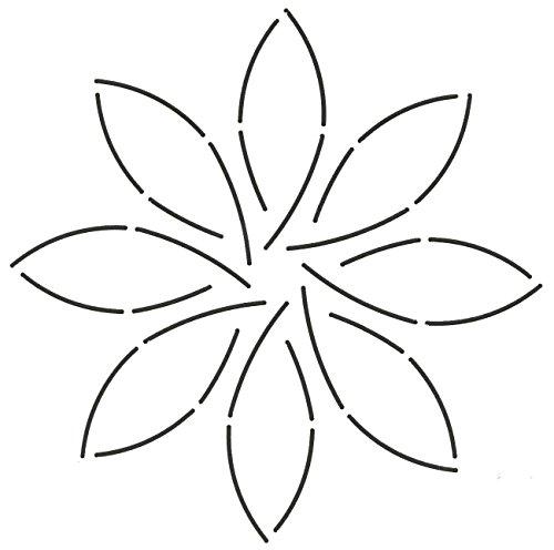 Quilting Creations Pinwheel Quilt Stencil