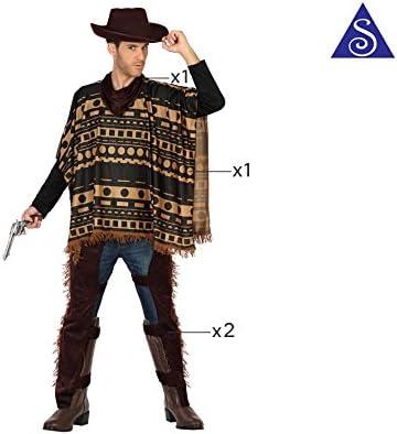 Atosa-29017 Cowboy Disfraz Vaquero Xl, color marrón, (29017 ...