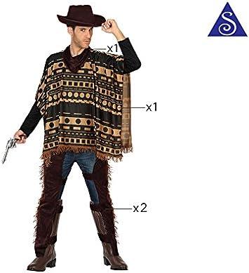 Atosa-29016 Disfraz Vaquero, color marrón, M-l (29016): Amazon.es ...