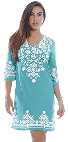 c47b8205831d Galleon - 1883-Green-M Just Love Swimsuit Cover Up   Summer Dresses   Resort  Wear
