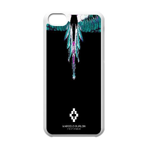 Marcelo Burlon 36Y52E cover iphone 5C Cell Phone Case White 567L12 Phone Case Customized Durable
