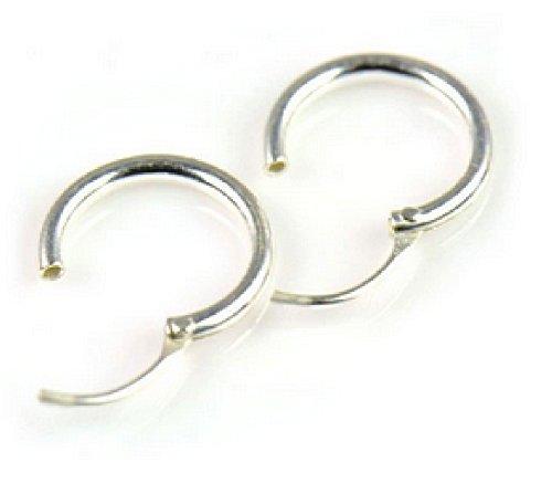 Silver Endless Earrings Cartilage Magick