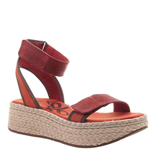 OTBT Women's Reflector Wedge Sandals - Cinnamon - 10 M US