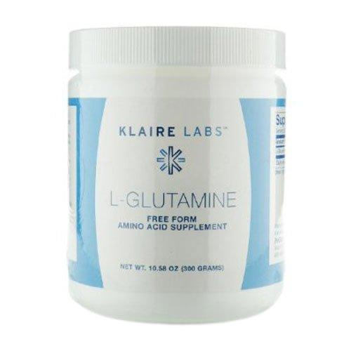L-glutamina en polvo 300g de Klaire Labs