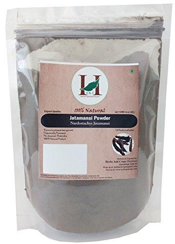 Price comparison product image 100% Natural Jatamansi Powder,227 grams,(Rhizome) (Nardostachys Jatamansi) (Ayurvedic Stress Relief Formulation)