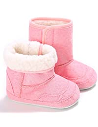 Baby Premium Soft Fleece Booties Slippers Newborn Infant Girl Boy Winter Warm Prewalker Snow Boots Shoes