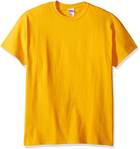 gildan-mens-ultra-cotton-tee-gold-x-large