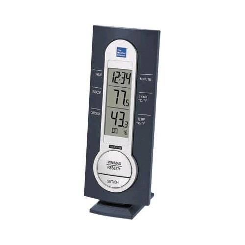 La Crosse WS-7034TWC-IT Thermometer has an outdoor sensor that sends the outdoor temperature