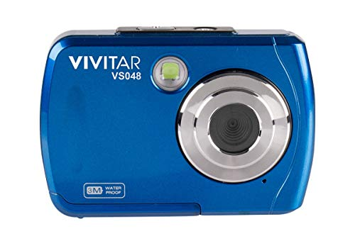 Vivitar Digital Camera Review - Vivitar Instant VS048 16.0-Megapixel Digital Camera, Blue