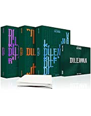 ENHYPEN Dimension Dilemma 1st Album Set (ODYSSEUS, SCYLLA, CHARYBDIS, ESSENTIAL) (incl. Weverse Official Gift, Pre-order Benefits : Poster (Folded), OS Player Card)