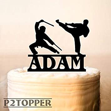 Ninja Cake Topper,Ninja Birthday Cake Topper,custom name ...