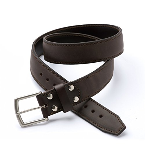 Saddleback Leather Co. Tow Belt Highest Quality Designed Leather Belts for Men Includes 100 Year Warranty