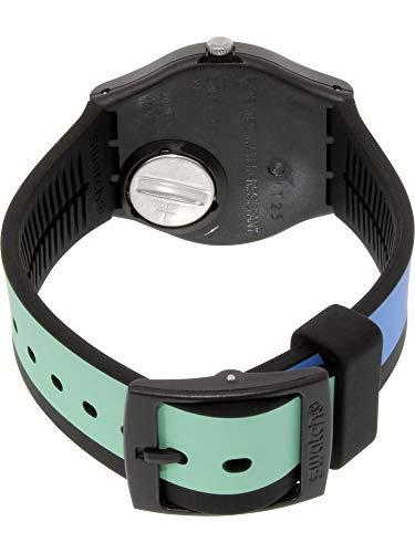 Swatch Originals A Cote Red Dial Silicone Strap Unisex Watch GB286 ... 8d813df9de