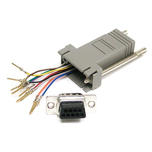 (Cables To Go Rj45 10-pin/db9f Modular Adapter -)