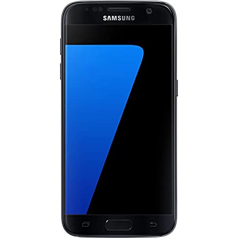 Samsung Galaxy S7 Dual Sim Factory Unlocked Phone 32 GB - Internationally Sourced (Middle East/Afican/Asia) Version G930FD Dual Sim- Black Oynx