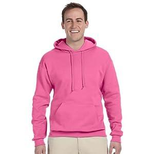 Jerzees 8 oz., 50/50 NuBlend Fleece Pullover Hood (996)- NEON PINK,XL