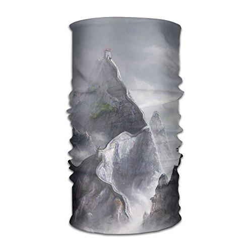 Owen Pullman Multifunctional Headwear Great Wall Built Mountains Head Wrap Elastic Turban Sport Headband Outdoor Sweatband ()