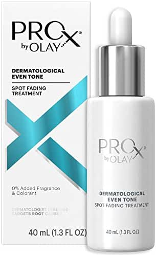 Dark Spot Corrector Serum for Even Skin Tone by Olay ProX, with Vitamin B3 & Sea Kelp Extract, 1.3 Fl Oz