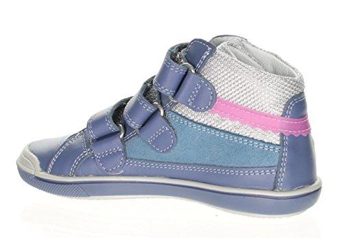 Bartek Girls Leather Sneakers Ankle Boots Steel Blue 64197 Little Kid//Big Kid
