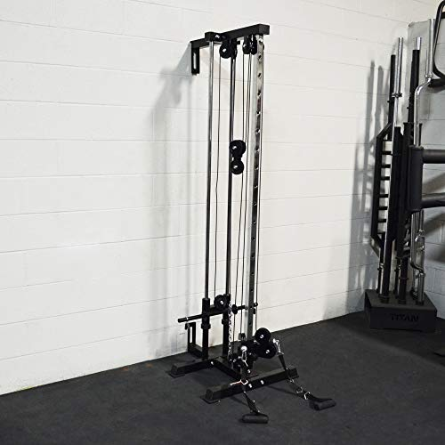 Titan Fitness Wall Mounted Pulley Tower | Tall | V2 by Titan Distributors Inc. (Image #1)