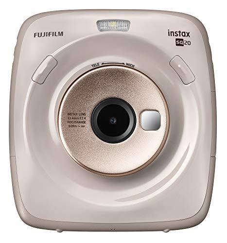 Fujifilm Instax Square SQ20 Instant Film Camera – Beige