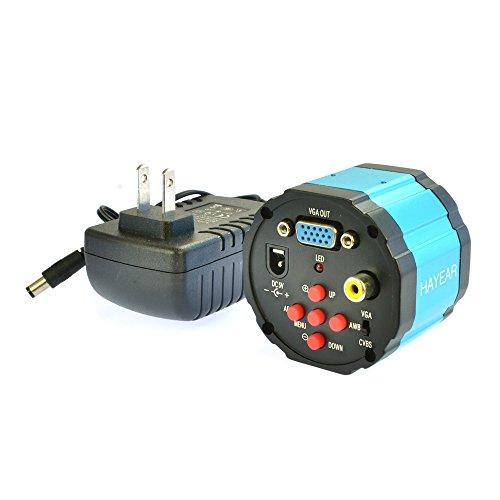 2.0mp Hd Digital C-Mount Industry Microscope Camera VGA Av Tv Video Output Lab