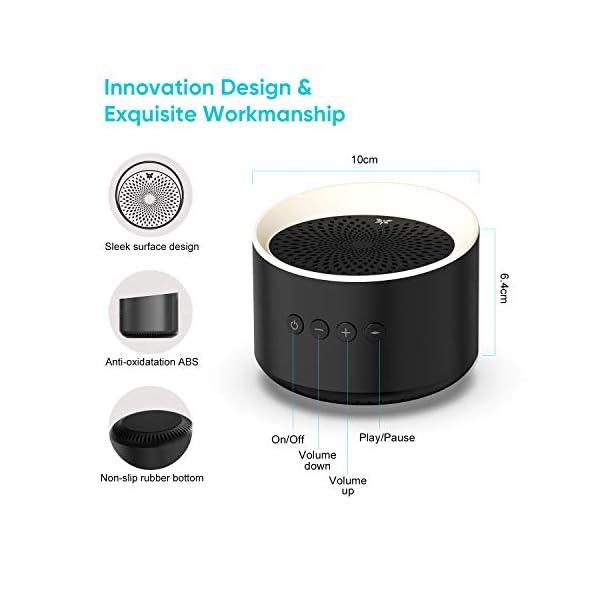 Enceinte Bluetooth Portable TWS AXLOIE Haut-parleur Bluetooth 5.0 sans Fil Basse Profonde Stéréo HiFi pour Carte TF / AUX Appels Mains Libres Micro Intégré 10H de Lecture pour iOS Android Tablette etc 7