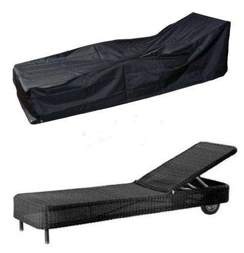 HBCOLLECTION Deluxe Polyestere Copri Telo di copertura per sdraio, lettino da giardino 220cm