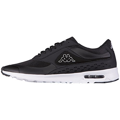 Kappa Mesh Milla Zapatillas 1110 Women White Footwear Black Negro Mujer Synthetic qqrIF