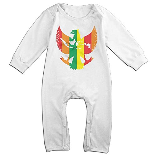 National Emblem of Indonesia Hip Hop Newborn Baby 6-24 Months Baby Climbing Clothing Baby Long Sleeve Garment by yimo