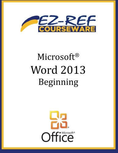 Microsoft Word 2013: Beginning