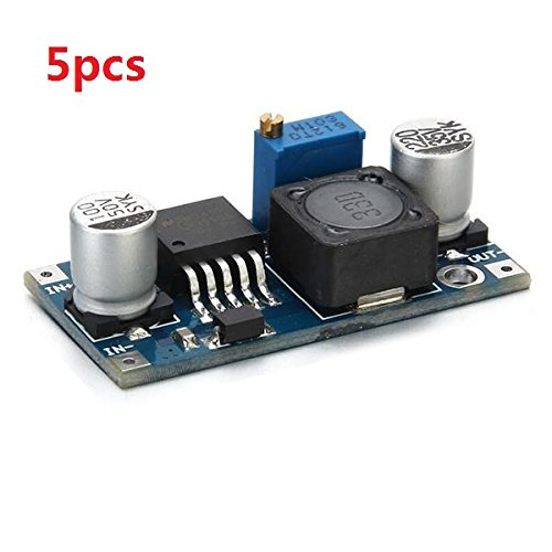 5Pcs LM2596 DC-DC Adjustable Step Down Power Supply Module - Arduino Compatible SCM & DIY Kits
