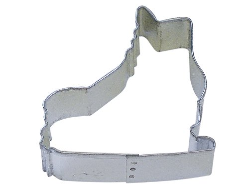 Cybrtrayd R and M Ice Skate 3-Inch Cookie Cutter in Durable, Economical, Tinplated Steel 000RM-0919
