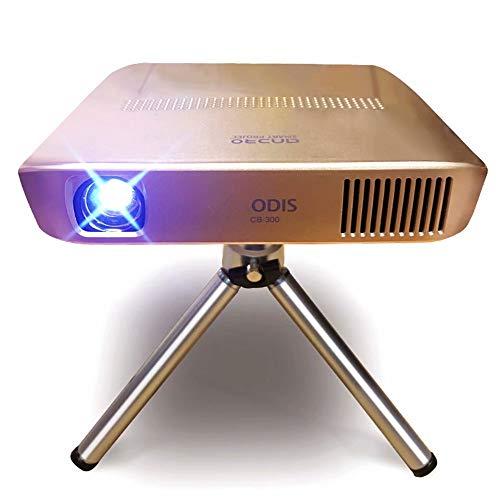 Projektor nach Hause Mini tragbare 4K HD Smartphone drahtlose WiFi Heimkino 3D-Wiedergabe
