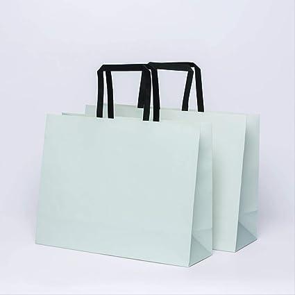 20 Unids bolsa de papel kraft bolsa de compras bolsa de ...