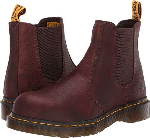 Dr. Martens Work Women's Arbor Steel Toe Chelsea Boot Teak 9 B UK ()