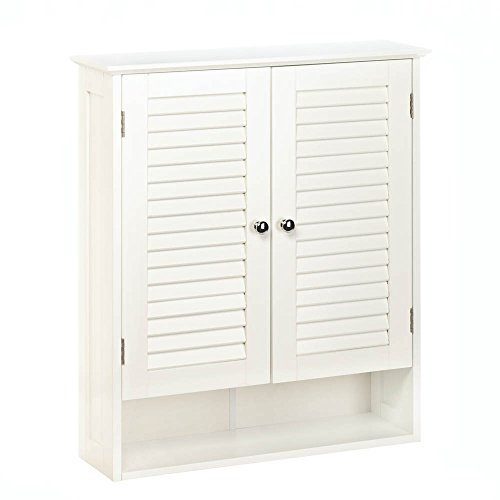 Accent Plus Bathroom Wall Cabinet White, Kitchen Cabinet Organizers Nantucket Wall Cabinet by Accent Plus