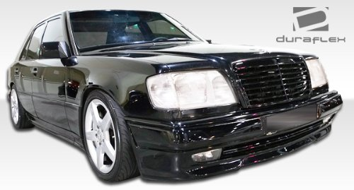 1986-1995 Mercedes E Class W124 4DR Duraflex C36 Look Body Kit - 4 Piece - Includes C36 Look Front Bumper Cover (105064) C36 Look Rear Bumper Cover (105065) AMG Style Side Skirts Rocker Panels (105061) ()
