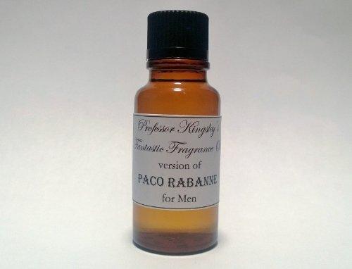 Professor Kingsley's Impression of Paco Rabanne for Men. Concentrated Fragrance Oil. (1/2 oz Concentrated Splash)