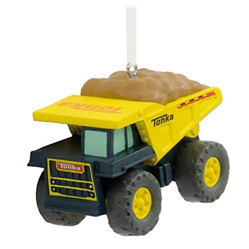 (Hallmark Christmas Ornament Tonka Dump Truck)
