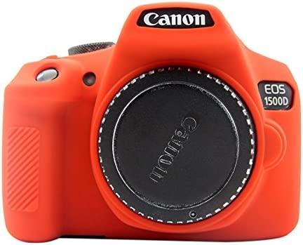 CAMERABAGS - Carcasa de Silicona para cámara Canon EOS 1300D y ...