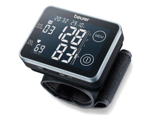 Beurer Vollautomatisches Handgelenk-Blutdruckmessgerät BC 58 einfach zu bedienen für genaue Messergebnisse; mit Einstufung der Werte