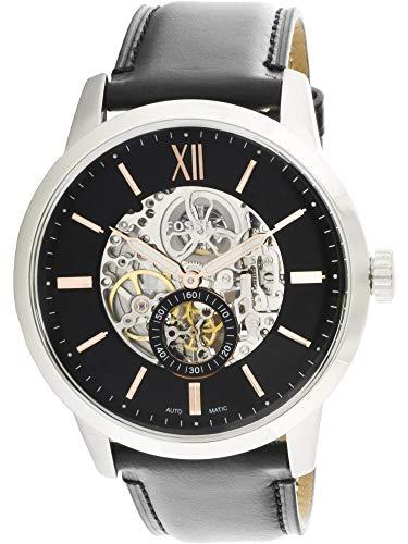 - Fossil ME3153 Men's Townsman Semi-Skeleton Dial Automatic Watch
