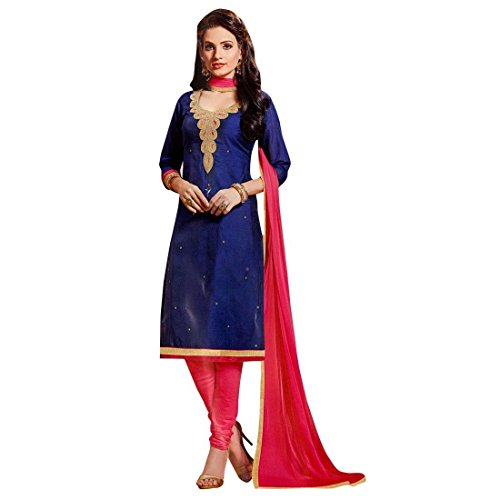 Readymade-Handworked-Neckline-Silk-Salwar-Kameez-Suit-Indian-Dress