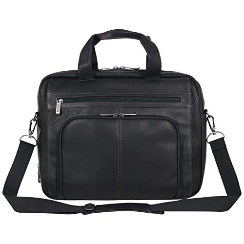 0.5' Portfolio - Kenneth Cole Reaction Reaction Manhattan Colombian Leather Expandable RFID 15.6