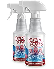 Biotech Odor Eliminator Spray - Made in Canada - For Feet Odor, Smelly Shoes, Clothes, Sport Equipment and Carpet by Game Over